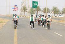 صورة مسيرة دراجي القنفذة .. همة حتى القمة